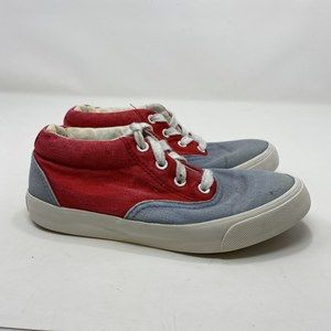 Converse Women's Red & Blue Shoes Size 5.5 (A129)